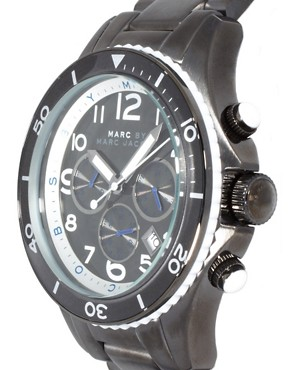 Image 4 ofMarc by Marc Jacobs MBM5025 Men&#39;s Round Chronograph Bracelet Watch