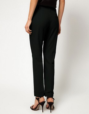 Image 2 ofASOS PETITE Jet Pocket Trousers