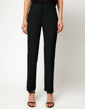 Image 4 ofASOS PETITE Jet Pocket Trousers