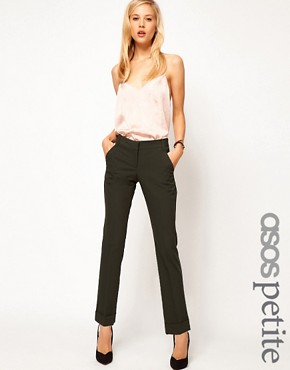 Image 1 ofASOS PETITE Jet Pocket Trousers