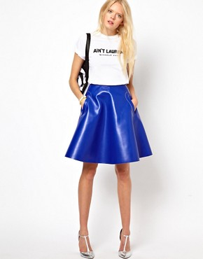 Image 1 ofBaum und Pferdgarten Coated Cotton Full Skirt