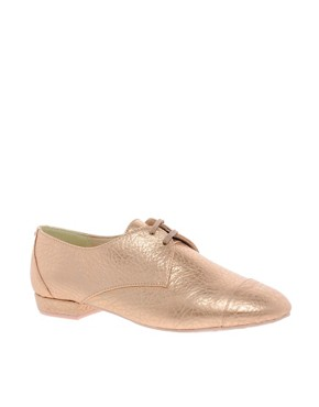 Image 1 ofTed Baker Kape Flat Lace Up Shoes