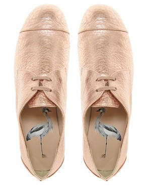 Image 4 ofTed Baker Kape Flat Lace Up Shoes