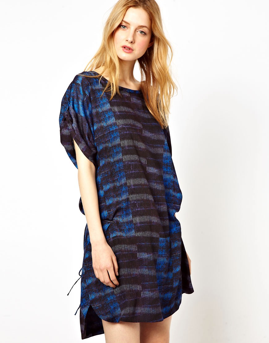Image 1 of See By Chloe Sporty Printed Shift Dress