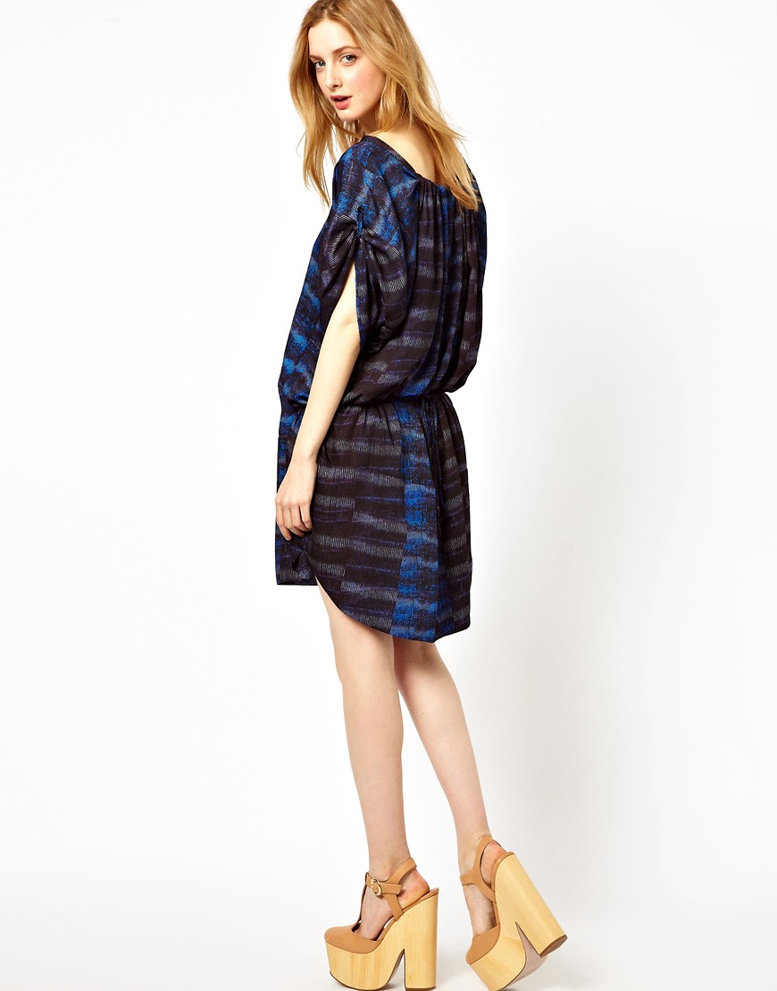 Image 4 of See By Chloe Sporty Printed Shift Dress