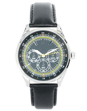 Image 1 of ASOS Multi Dial Classic Watch