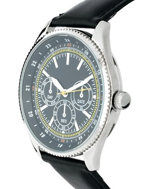 Image 3 of ASOS Multi Dial Classic Watch