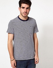 Levis T-Shirt Sunset Breton Stripe Pocket