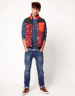 Image 4 ofASOS Fleece Gilet