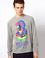 Esprit Sweatshirt With Three Print