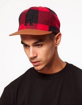 Image 3 ofHUF Classic H Buffalo Snapback Cap
