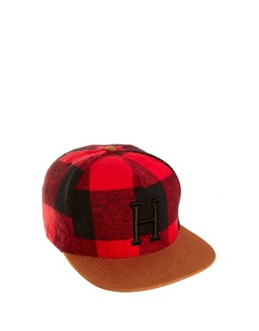Image 1 ofHUF Classic H Buffalo Snapback Cap