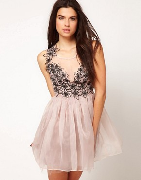 Image 1 ofLipsy VIP Corsage Ballet Dress