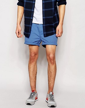 ASOS Chino Shorts In Shorter Length