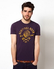 Polo Ralph Lauren T-Shirt with Sentinal Rock Print
