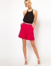 ASOS Shorts in Premium Crepe