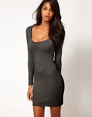 ASOS Mini Bodycon Dress with Long Sleeves