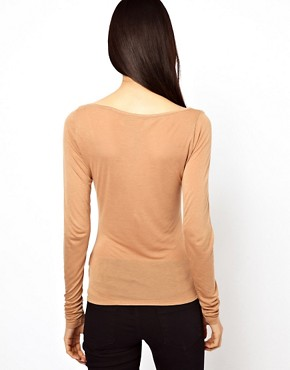Image 2 of Cheap Monday Eyeona Long Sleeved T-Shirt