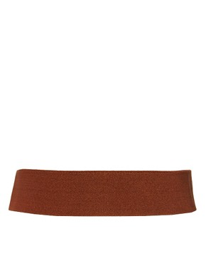 Image 3 of Oasis Chain Edge Elastic Waist Belt