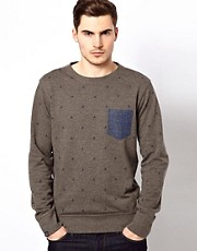 Jack &amp; Jones Sweat with Boat Print