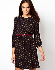Jarlo Printed Dress With Belt