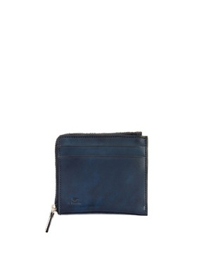 Image 1 of Il Bussetto Leather Zip Wallet