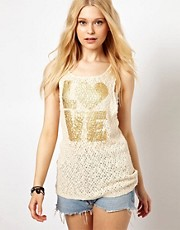 Club L Love Knitted Tank