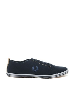 Image 4 ofFred Perry Kingston Plimsolls