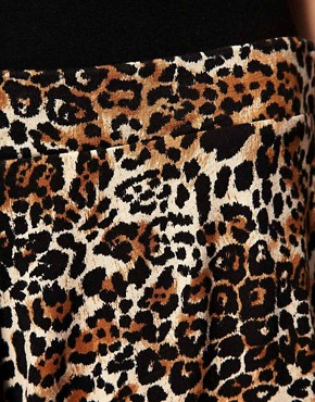 Image 3 ofASOS Leopard Print Culottes