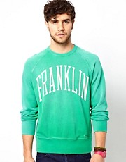 Franklin & Marshall  Sweatshirt in Used-Waschung