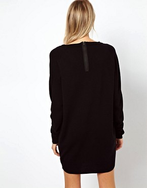 Image 2 ofASOS Fine Knit Jumper Dress