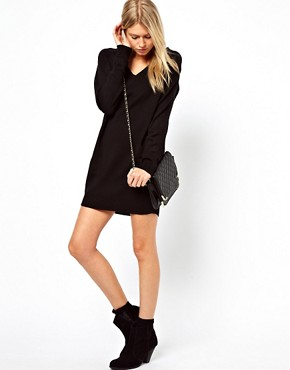 Image 4 ofASOS Fine Knit Jumper Dress