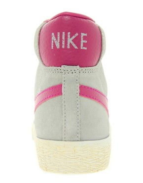 Image 4 ofNike Blazer Mid Grey Trainers