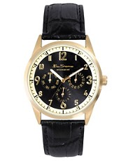 Ben Sherman Black Chronograph Strap Watch