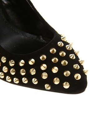 Image 4 ofSteve Madden Intrud-S Stud Court Shoes