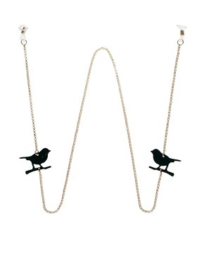 Image 1 ofASOS Bird Sunglasses Chain