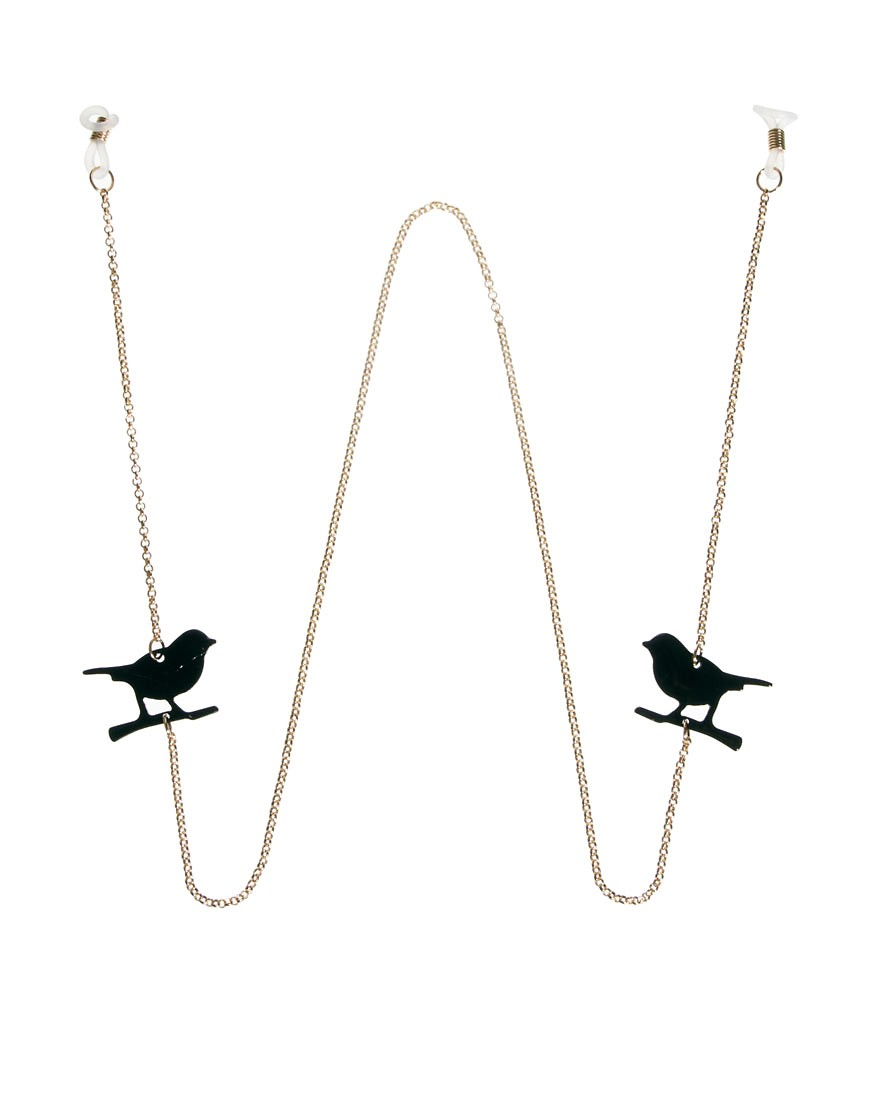Image 1 of ASOS Bird Sunglasses Chain