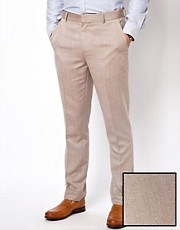 ASOS Slim Fit Oxford Smart Trousers