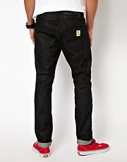 Money Jeans Purity Badge Regular Tapered Selvage