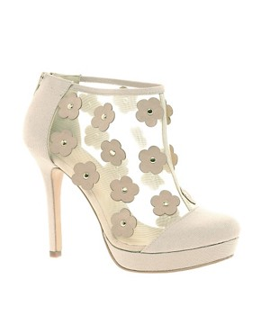 Image 1 ofASOS TAPDANCE Shoe Boots With Flowers