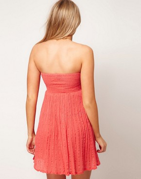 Image 2 ofASOS Maternity Cheesecloth Bandeau Dress