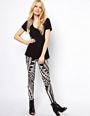 b + ab Aztec Print Legging