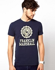 Franklin &amp; Marshall T-Shirt with Seal Logo