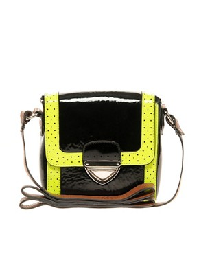 Image 1 ofASOS Fluro Trim Across Body Bag