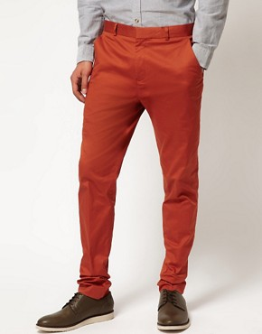 Image 1 ofASOS skinny Fit Chino Trousers