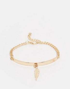 ASOS Feather ID Bracelet