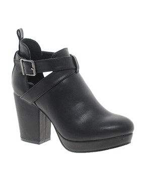 ASOS ALBERT Cut Out Ankle Boots