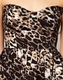 Image 3 ofOh My Love Leopard Tutu Bandeau Skater Dress