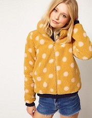 b + ab Polka Dot Jacket