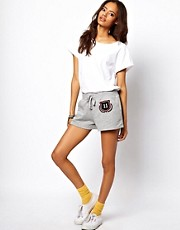 ASOS Running Shorts With Varsity Detail